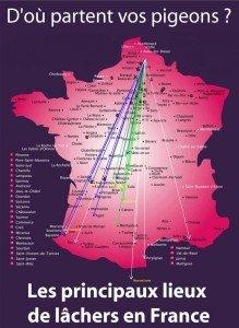 Lâchers en France