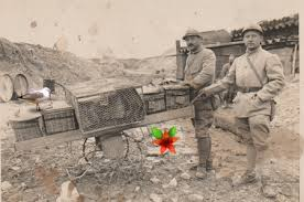 Soldats Français et P.V